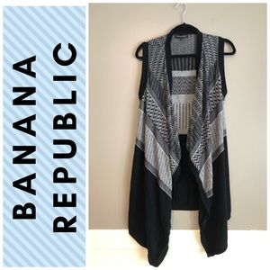 Banana Republic open front vest